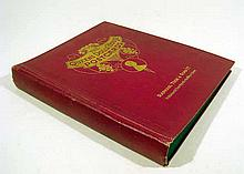 Antique QUEEN'S DOLLS' HOUSE POSTCARDS Album Raphael Tuck Near-Complete 45 Cards Queen Mary George V Princess Marie Louise Edward Lutyens Miniatures Windsor Castle 1924