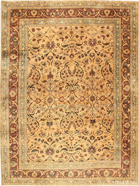 ANTIQUE PERSIAN KHORASSAN CARPET. 13 ft 2 in x 9 ft 8 in (4.01 m x 2.95 m).