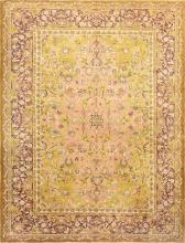 Polonaise Design Late 19th Century Antique Indian Agra Rug 48840