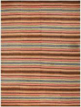 Beautiful Antique American Rag Rug