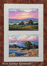 "Joseph Aaron (American, b. 1959), ""Desert Sunset"""