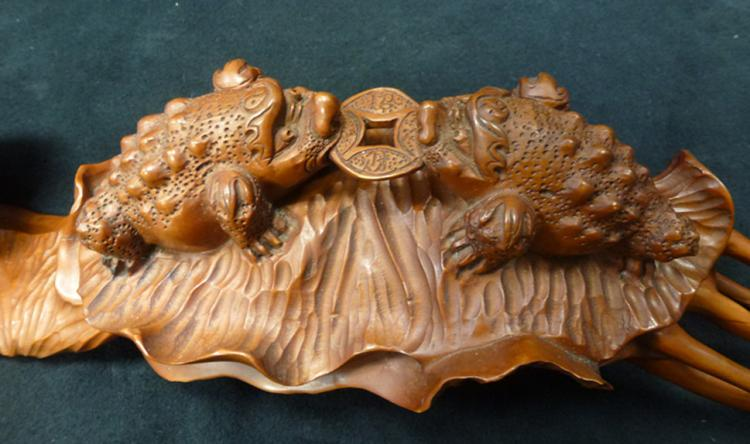Early th century boxwood carving