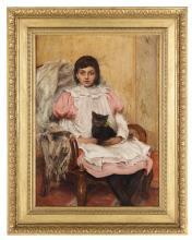 "William Frederick Yeames (British, 1835-1918), ""Companions"""