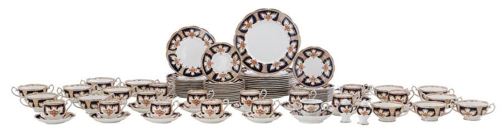 "Royal Albert ""Royalty"" Pattern Partial Dinner Service"