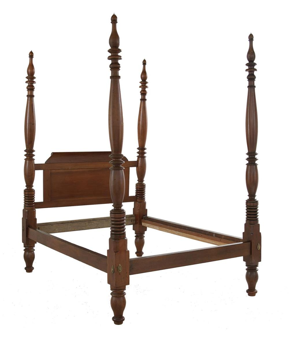Creole Cherrywood High-Post Bed in the Federal Manner