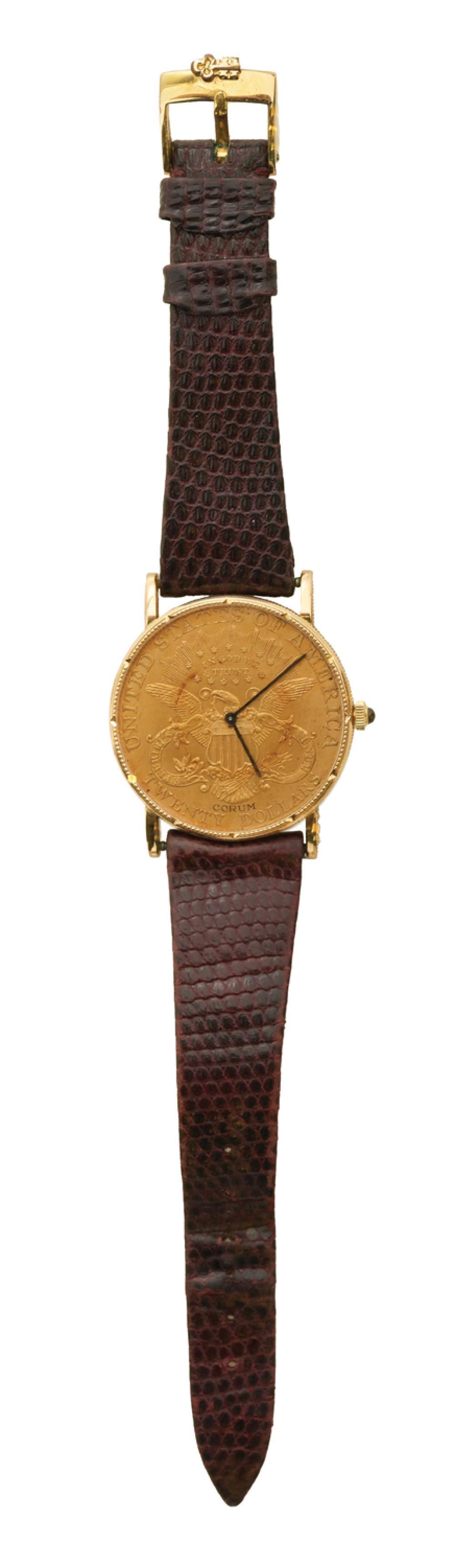 Corum 1903 Twenty Dollar Gold Coin Quartz Watch