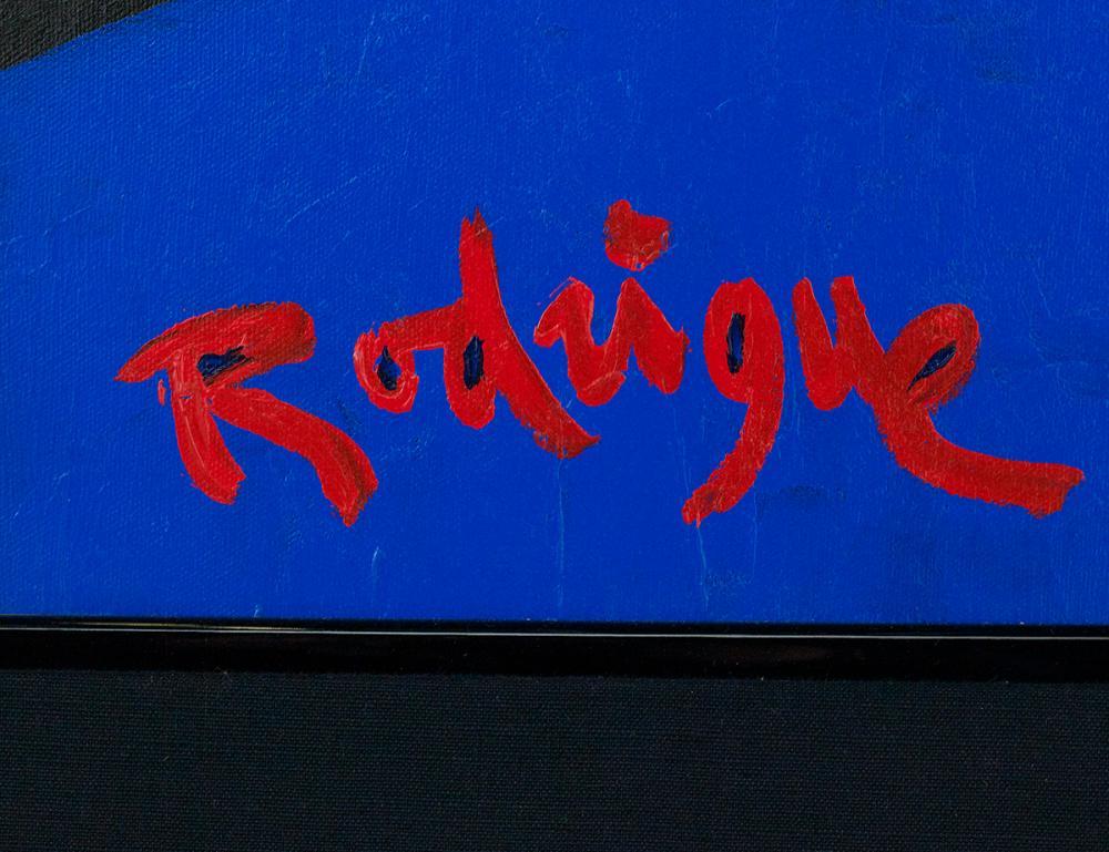George Rodrigue (American/Louisiana, 1944-2013),
