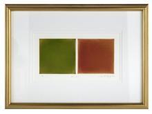 "Anne Appleby, (American, b. 1954), ""Red/Green"""