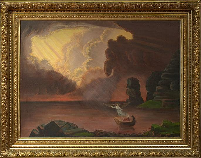 """After Thomas Cole (American, 1801-1848) """"The"""