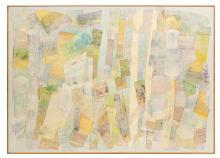 "Philip Edward Mullen (American/South Carolina, b. 1942), ""Aquarium"""