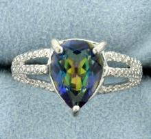 Classic Blue Mystic Topaz Ring