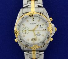 Men's Buloua Millenia 100m Two-Tone Watch
