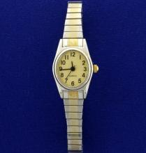 Woman's Two Tone Watch
