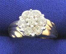 1/2 Carat Diamond 10k Ring