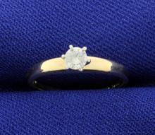 Diamond 1/5 Carat 14k Solitaire!