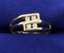 Diamond 14k Yellow Gold Ring
