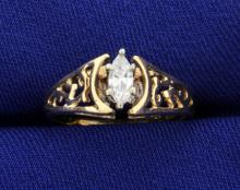.2ct Marquise Diamond Ring