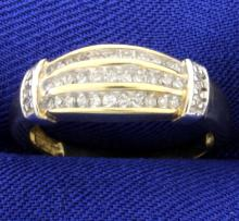 .4ct Total Weight Diamond Ring