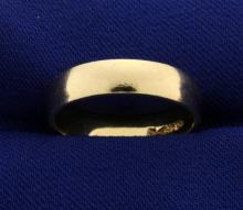 5mm Gold Wedding Band