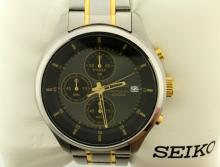 Like New Men's Seiko 4T57 Chronograph Watch