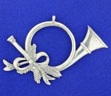 Sterling Silver Christmas Ornament