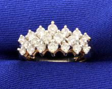 Diamond 1 Carat 10k Yellow Gold Ring