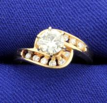 Diamond 3/4 carat 14K Ring