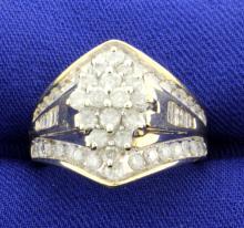 1.50 ct. Diamond 14K Yellow Gold Fashion Ring