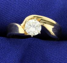 Certified .95ct Diamond Solitaire Ring