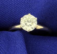 1.1ct Solitaire Diamond Ring