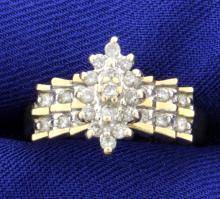 1/2 carat TW Diamond Ring
