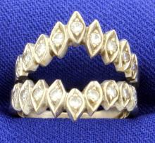1/2ct Total Weight Diamond Ring Jacket