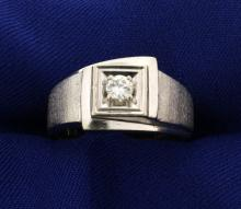 .2ct Solitaire Diamond Ring in White Gold