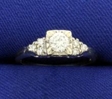 1/2ct TW Diamond Ring in 14K White Gold