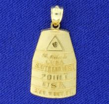 Southernmost Point Buoy Pendant