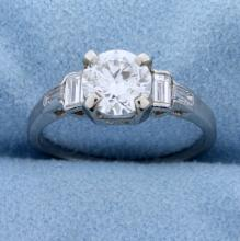 Lot 3874: 1.4ct TW Diamond Engagement Ring in Platinum