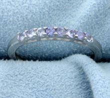 Tanzanite Stackable Ring