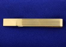 14K Tie Clip