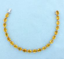 33ct Citrine Bracelet