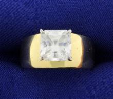 2ct CZ Ring