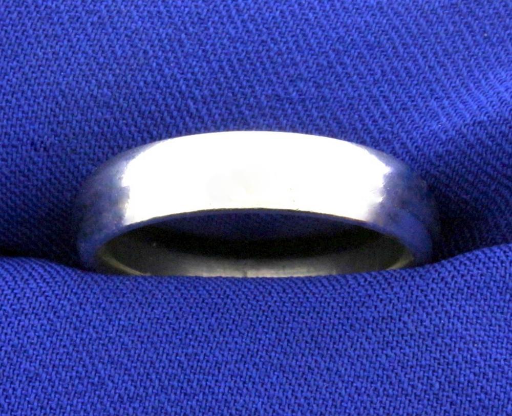 Platinum Wedding Band Ring