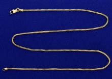 18 Inch Snake Link Neck Chain