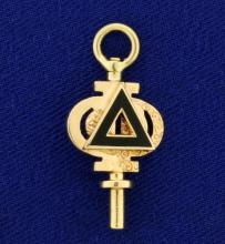 Delta Fob Pendant or Charm