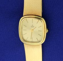 Vintage Women's Concord Solid 14k Gold Watch