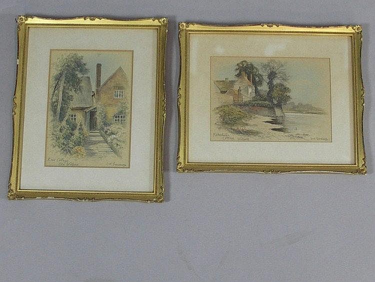 Sid Gardner - Rose Cottage, Old Wilford and Kirk