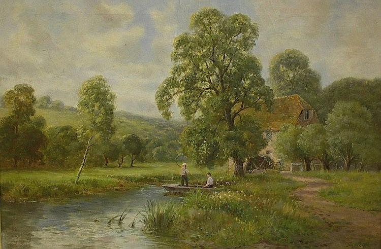 John Bonny, a pair - Netley Mill, Surrey, with