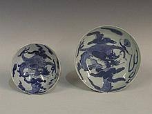 A 19th Century Chinese porcelain dish painted in