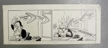 Williams, Glan, cartoonist  (1911 - 1986), original cartoon, NURSES PAY, SP