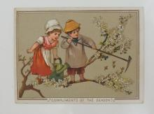 Victorian Greetings Cards, Christmas, New Year, very comprehensive, annotat