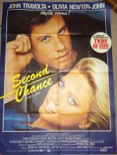 Cinema, Poster, Second Chance, Two of a Kind, 1983, John Travolta, Olivia N
